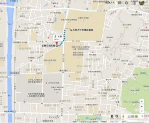 芝蘭会館周辺地図