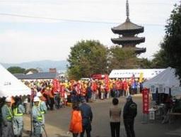 京都市避難訓練